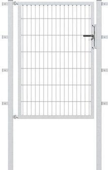 GAH-Alberts Doppelstab-Gartentor BxH: 100 x 80 cm anthrazit