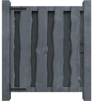vidaXL Wooden door 100 x 125 cm - grey