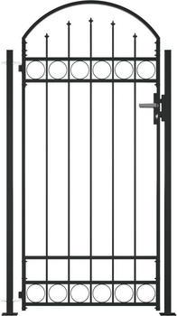vidaXL Gate for fence 100 x 200 cm