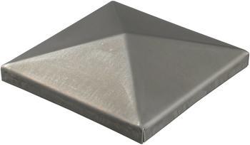 GAH-Alberts Pfostenkappe für Metallpfosten, zum Anschweißen 80 x 80 mm
