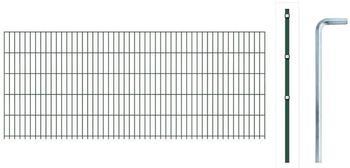 GAH-Alberts Anbauset Doppelstabmatte BxH 200 x 100 cm