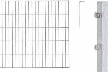 GAH-Alberts Zaun-Set Doppelstabmatte 10 m x 80 cm