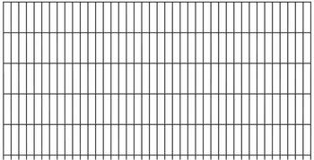 GAH-Alberts Zaun-Set Doppelstabmatte BxH: 10 m x 140 cm feuerverzinkt