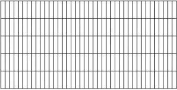 GAH-Alberts Doppelstabmatte 200 x 200 cm feuerverzinkt
