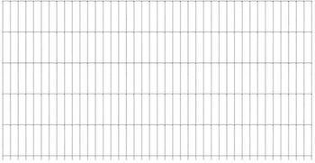 GAH-Alberts Doppelstabmatte 200 x 180 cm feuerverzinkt
