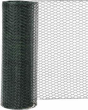 Rewwer-Tec Sechseckgeflecht 10m x 100cm grün (MW 25mm)