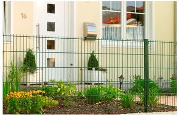 Floracord Peddy Shield Zaunset DSM BxH: 10 x 0,83 m grün
