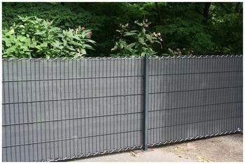 Floracord Peddy Shield Sichtschutzstreifen anthrazit BxH: 5 x 1,2 m