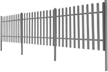 vidaXL Lattenzaun mit Pfosten 3-Stk. WPC 600x120 cm (42829)