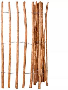vidaXL Staketenzaun Haselnussholz 150 x 250 cm (43139)
