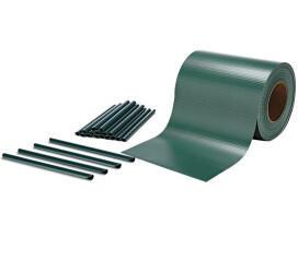 Mucola PVC Sichtschutzstreifen 19 cm x 35 m grün