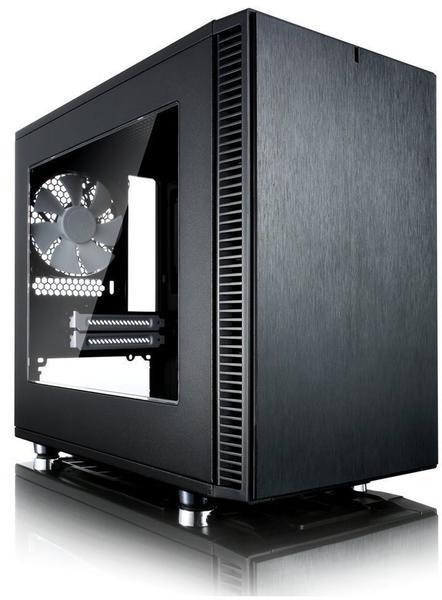 Fractal Design Define Nano S Window schwarz