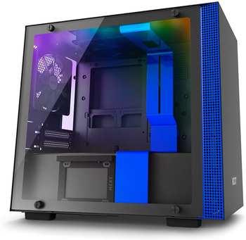 NZXT H200i schwarz blau