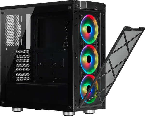 Corsair iCUE 465X RGB schwarz