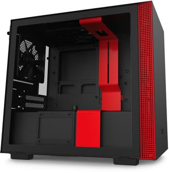 NZXT H210 Black/Red