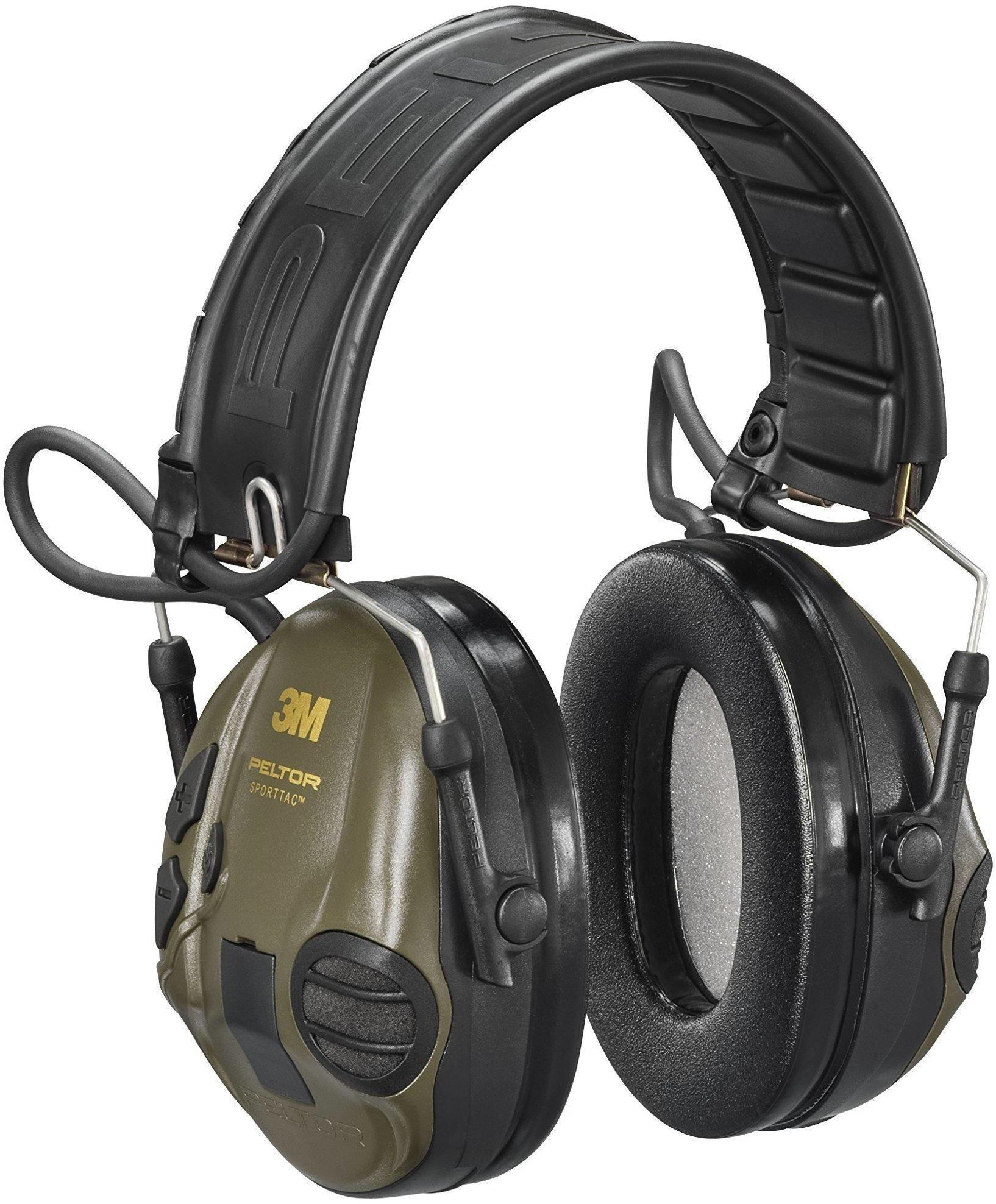 3m peltor sporttac aktiver gehörschutz mit faltbügel, grün/orange
