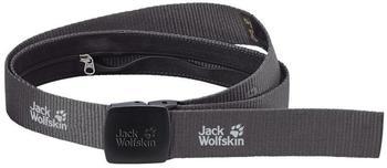 Jack Wolfskin Secret Belt Wide dark steel
