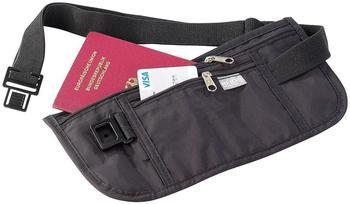Semptec Enganliegende Urlaubs- & Reise Bauchtasche mit RFID-Blocker