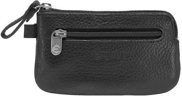 Serie Primavera 3992-05 Schwarz Schlüsseltasche Esquire Schlüsseletui aus Leder