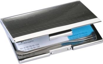sigel Visitenkartenbox silber (VZ130)
