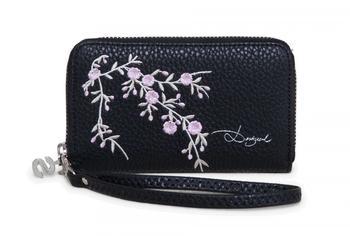Desigual Mone Mini Zip Blossom negro (72Y9YQ7)