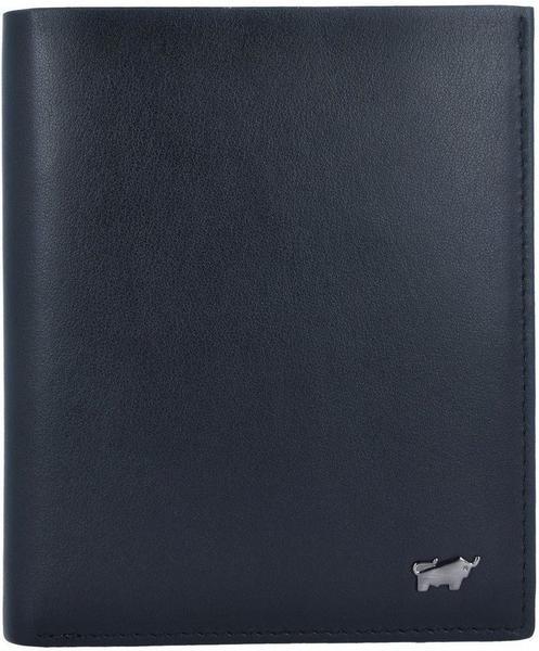 Livorno Geldbörse RFID Leder 10,5 cm, schwarz
