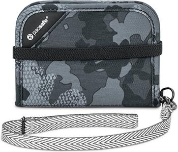 PacSafe RFIDsafe V50 grey camo