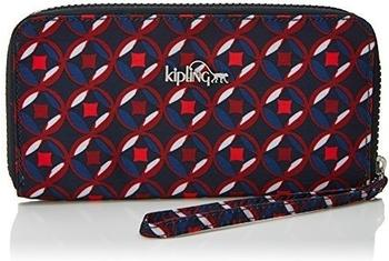 Kipling Alia red tile print