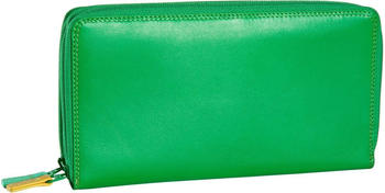MyWalit Large Double Zip Around Purse jamaica (375)