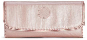 Kipling Supermoney metallic blush