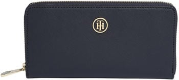 tommy-hilfiger-large-monogram-zip-wallet-navy-aw0aw04281