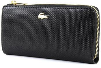 lacoste-womens-chantaco-pique-leather-8-card-zip-wallet-black