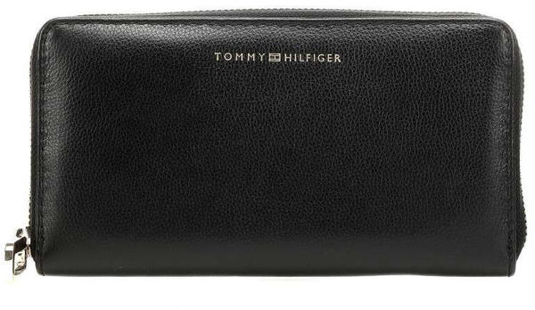 Tommy Hilfiger Elevated Leather Large Turnlock Textured Wallet (AW0AW07134)