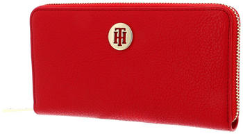 Tommy Hilfiger TH Core Large Zip Around Wallet barbados cherry (AW0AW08011)