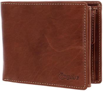 Esquire Denver RFID Billfold Wallet cognac (2284-18)