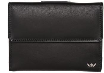 Golden Head Polo RFID Predect Ladies Purse Wallet black (2137-51)