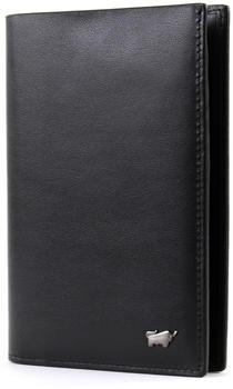 Braun Büffel Livorno Passport Case black