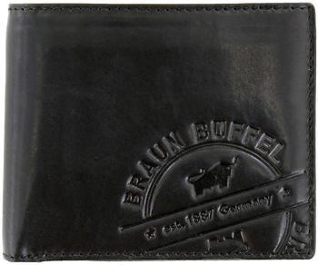 Braun Büffel Parma LP 4+3 Card Wallet black (57231-662)