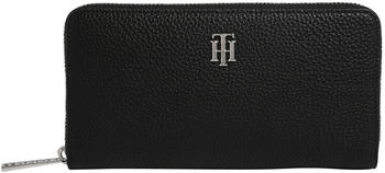 tommy-hilfiger-th-essence-monogram-zip-around-large-wallet-aw0aw08902-black
