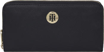 tommy-hilfiger-monogram-plaque-zip-around-wallet-aw0aw08891-sky-captain