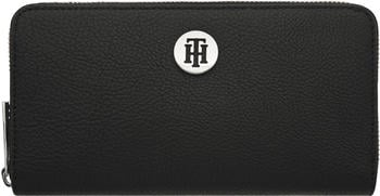 tommy-hilfiger-th-core-large-monogram-wallet-aw0aw08489-black