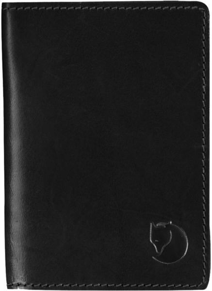 Fjällräven Leather Passport Cover black