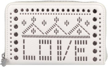 Desigual Azabache Mini Zip Wallet white