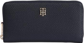 Tommy Hilfiger Large Monogram Zip Around Wallet (AW0AW10221) desert sky