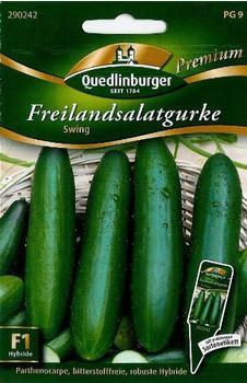 Quedlinburger Saatgut Freilandsalatgurke Swing F1