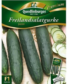 Quedlinburger Saatgut Freilandsalatgurke Jazzer F1