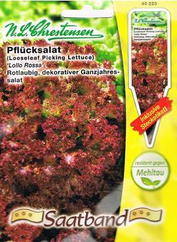 Chrestensen Pflücksalat Lollo Rossa (Saatband)