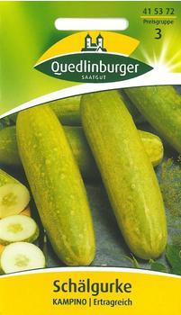 Quedlinburger Saatgut Schälgurke Kampino