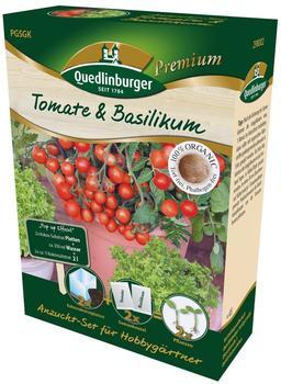 Quedlinburger Saatgut Anzuchtset Tomate & Basilikum
