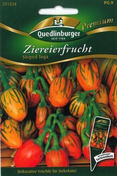 Quedlinburger Saatgut Ziereierfrucht Striped Toga